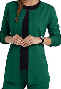 Urbane Ultimate Aubrey Button Front Scrub Jackets