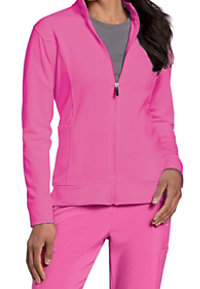 Urbane Performance Breast Cancer Awareness Media Scrub Jackets