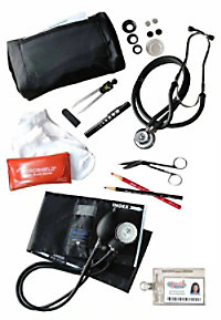 McCoy Medical Nursing Kit With Dissection Tools