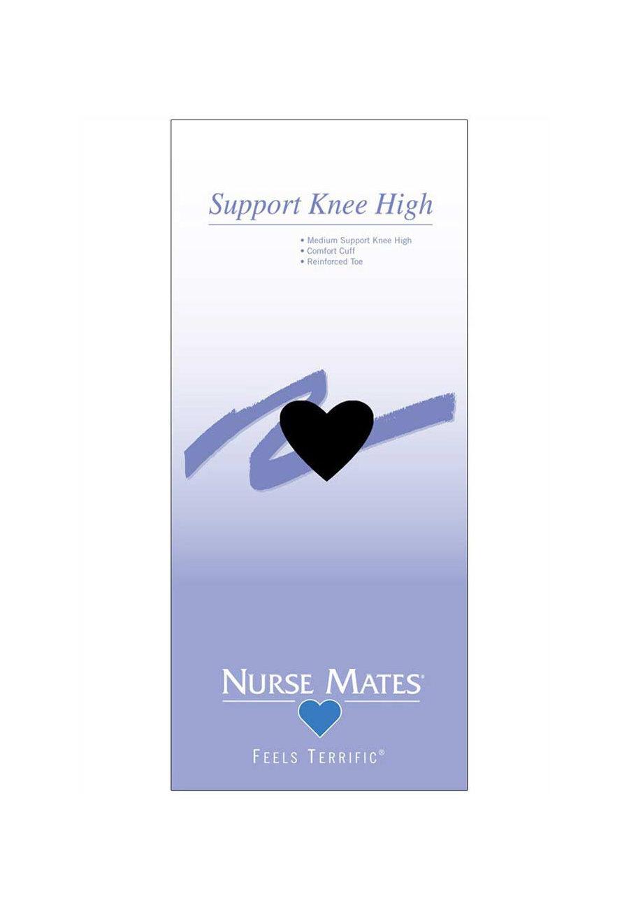 Nurse Mates Support Knee Highs
