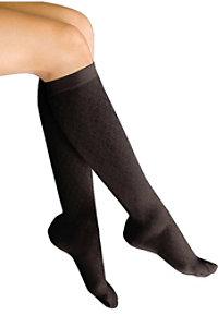 Therafirm Light Support Women's Diamond Pattern Trouser Socks