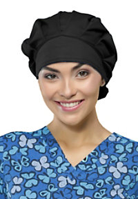 Code Happy Unisex Bouffant Hats With Certainty