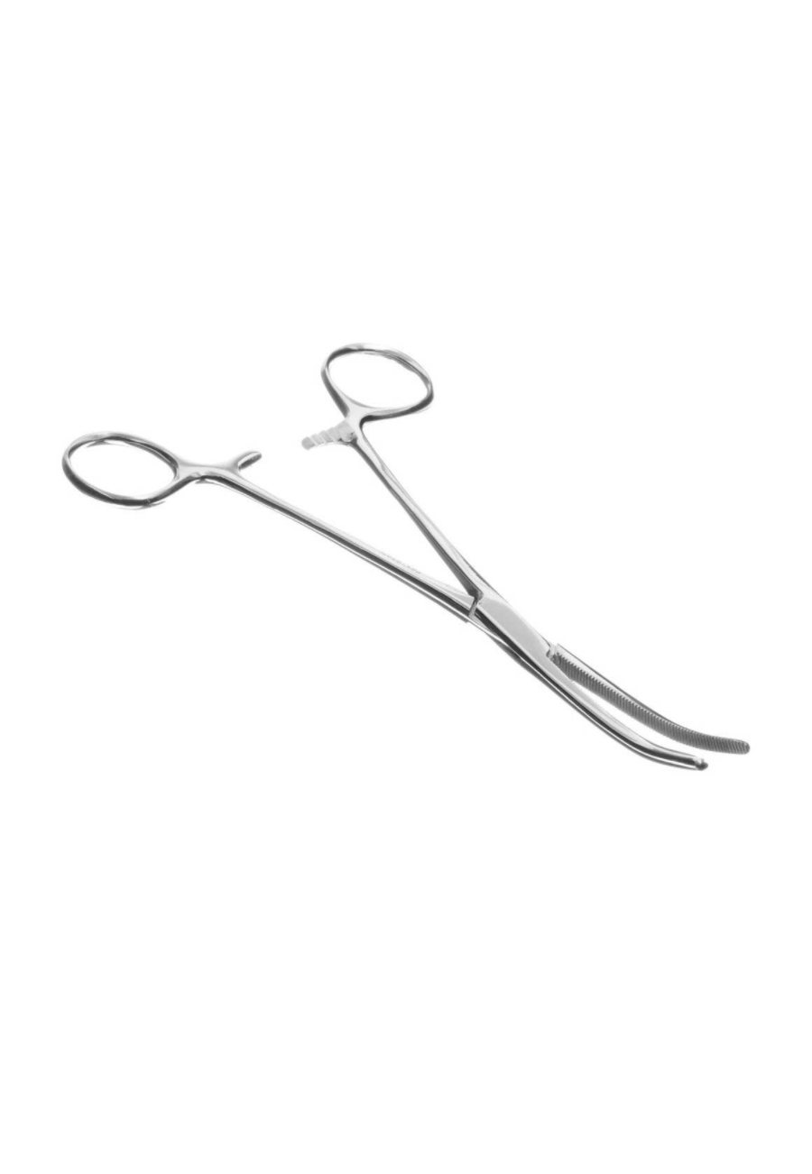 Beyond Scrubs Stainless Steel Curved 5.5 Inch Kelly Forceps