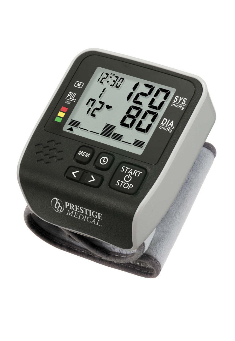 Prestige Wristmate Premium Digital Blood Pressure Monitors/black