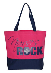McCoy Medical Nurses Rock Canvas Totes