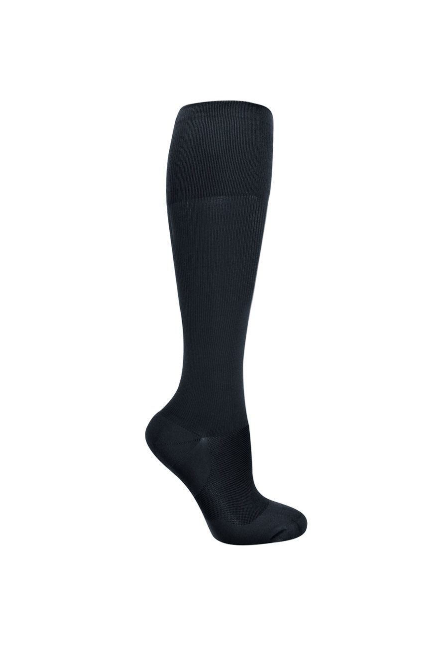 About The Nurse Men's Solid Medical Compression Socks - L