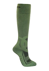 Total Compression Men's Army Green Medical Compression Socks