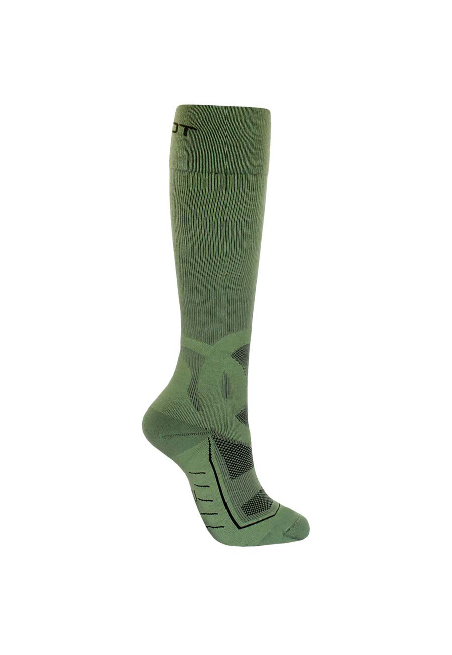 Image of About The Nurse Men's Army Green Compression Socks - Army Green - 2X
