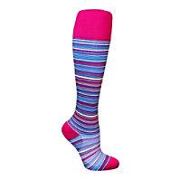 Total Compression Multi Stripes Compression Socks
