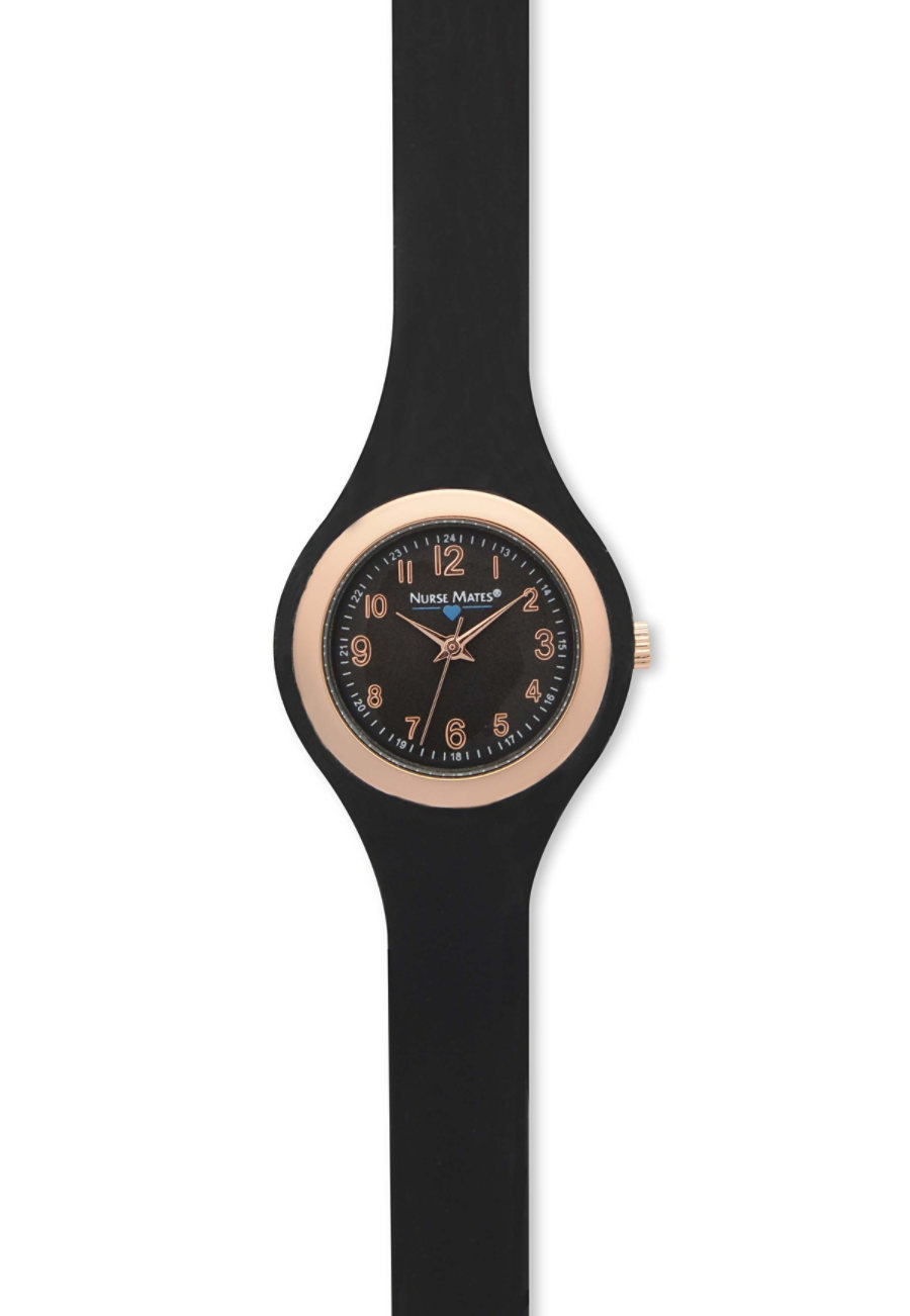 Nurse Mates Unisex Rose Gold Watch