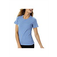 Blue Generation Ladies Short Sleeve Jewel Neck Tee