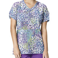 Carhartt Cross-Flex Cobblestone Violet Print Tops