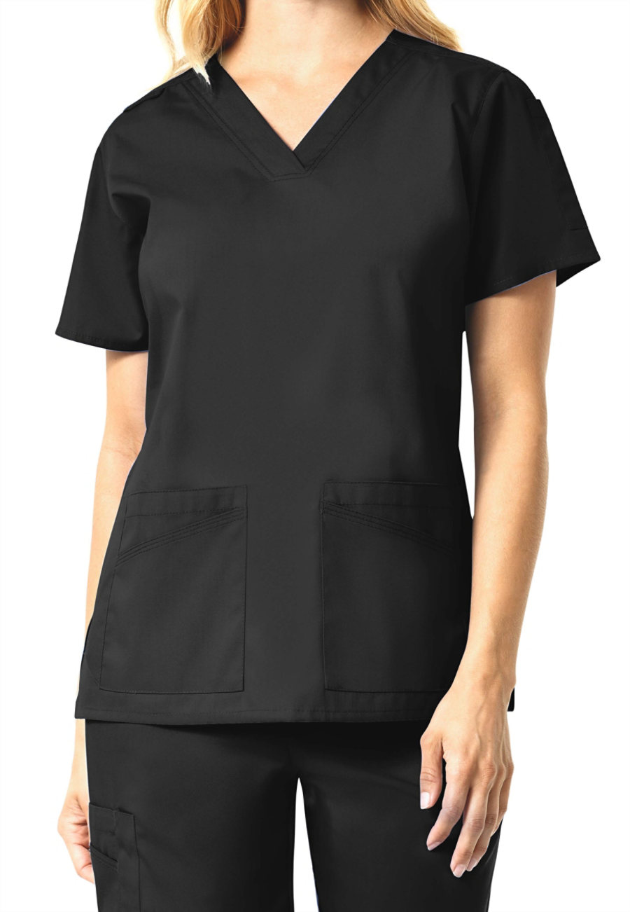 Carhartt Rockwall Women's Multi Pocket V-neck Scrub Tops