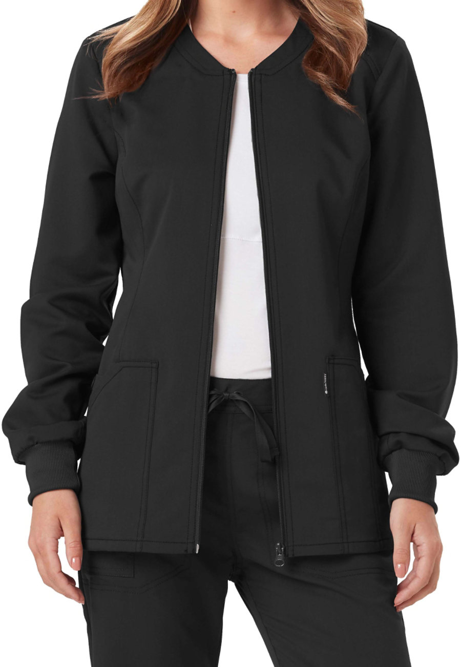 Code Happy Cloud Nine Zip Front Jackets With Certainty