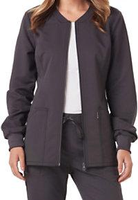 Code Happy Cloud Nine Zip Front Jackets With Certainty
