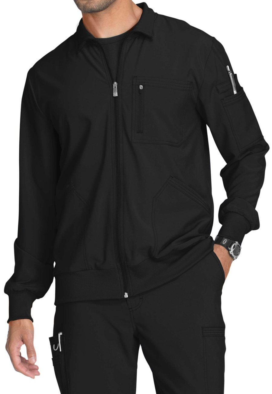 Infinity By Cherokee Men's Zip Front Jackets With Certainty