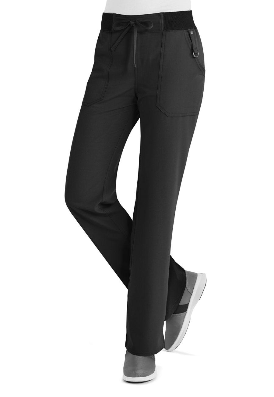 Dickies Xtreme Stretch Rib Waist Scrub Pants/black
