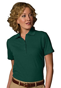 Edwards Garment Womens Soft Touch Pique Polo