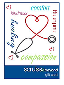 Scrubs & Beyond Nurses gift card
