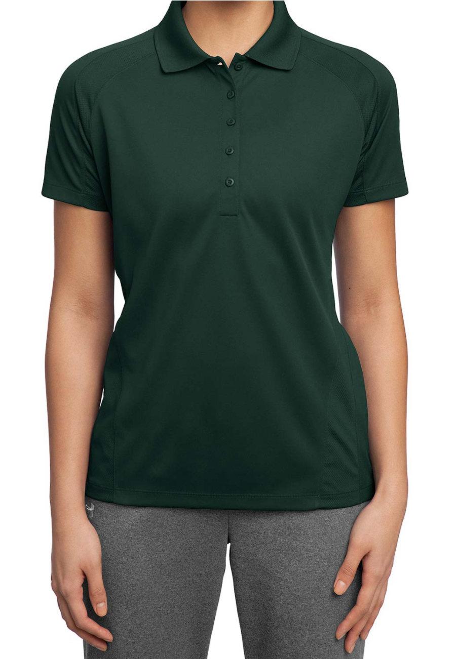 Sport-Tek Ladies Dri Mesh Polo Shirt