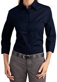 Port Authority Women's 3/4-sleeve Easy Care Shirt