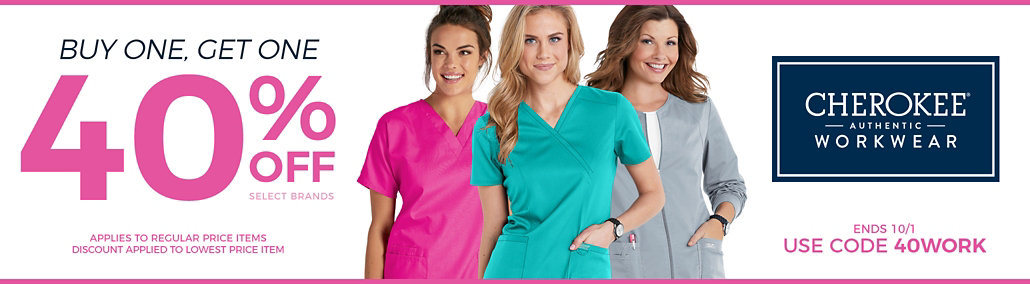 bogo 40% off Workwear