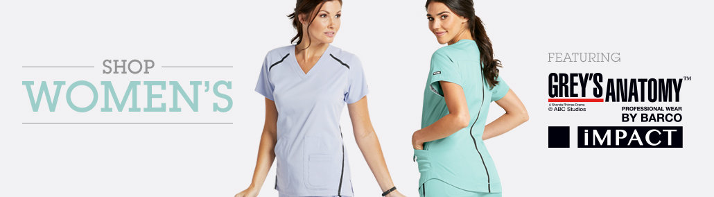 New scrubs from Grey's Anatomy