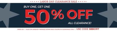 Charming BOGO 50% Clearance ...