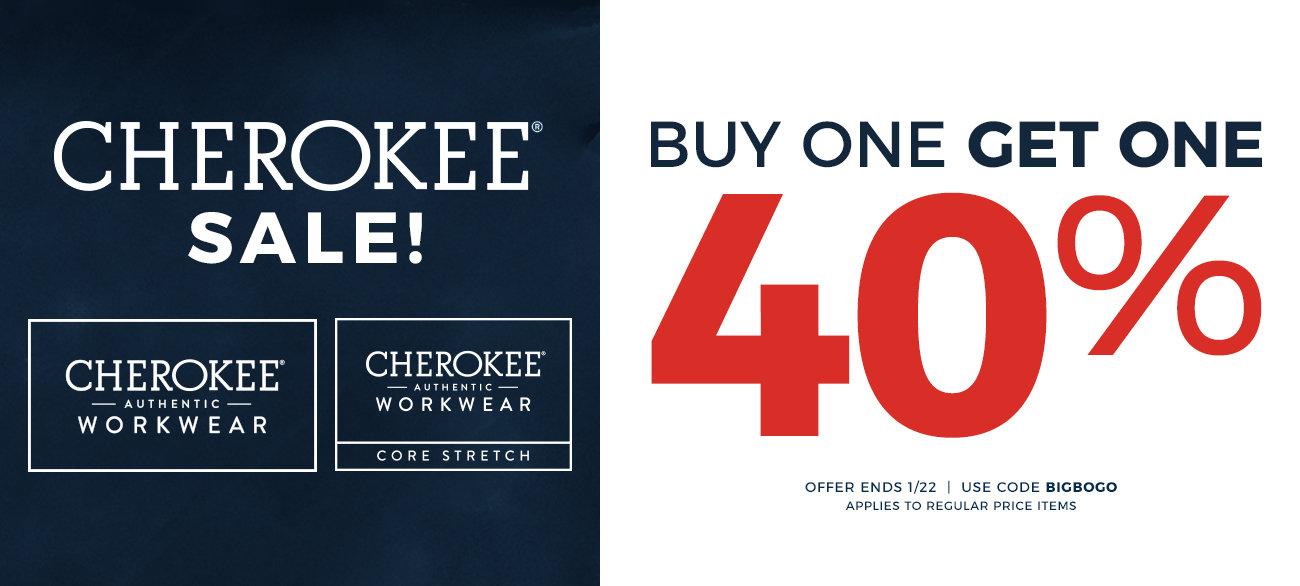 Cherokee 40% OFF