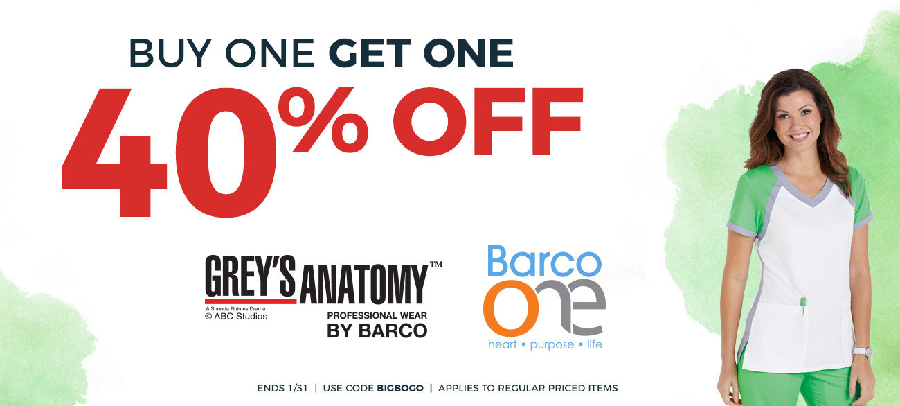 Grey's Anatomy BOGO sale