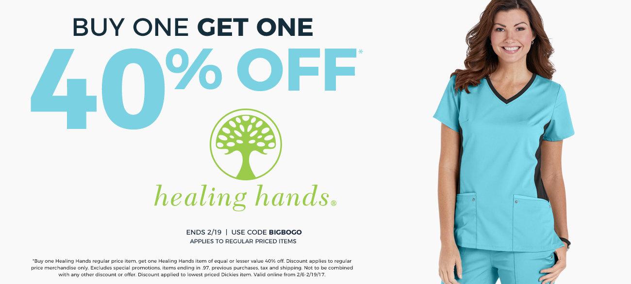 BOGO 40% Healing Hands