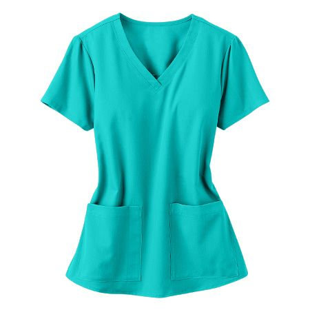 teal scrubs
