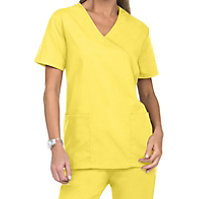 Natural Uniforms Mock Wrap Two Piece Scrub Set