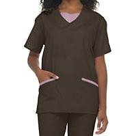 Natural Uniforms Tunic Two Piece Scrub Set