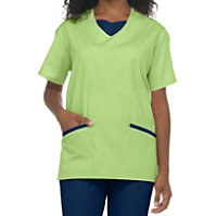 Natural Uniforms Tunic Two Piece Scrub Set