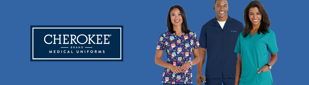 Shop Cherokee scrubs at discounted prices