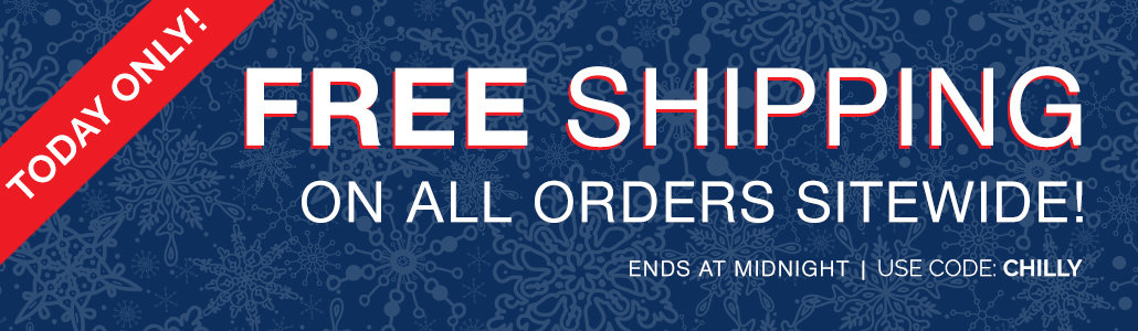 FREE SHIPPING - Limited Time!