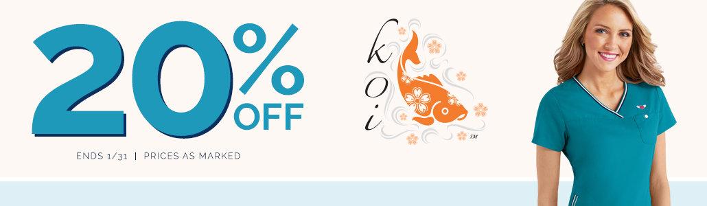 20% off Koi