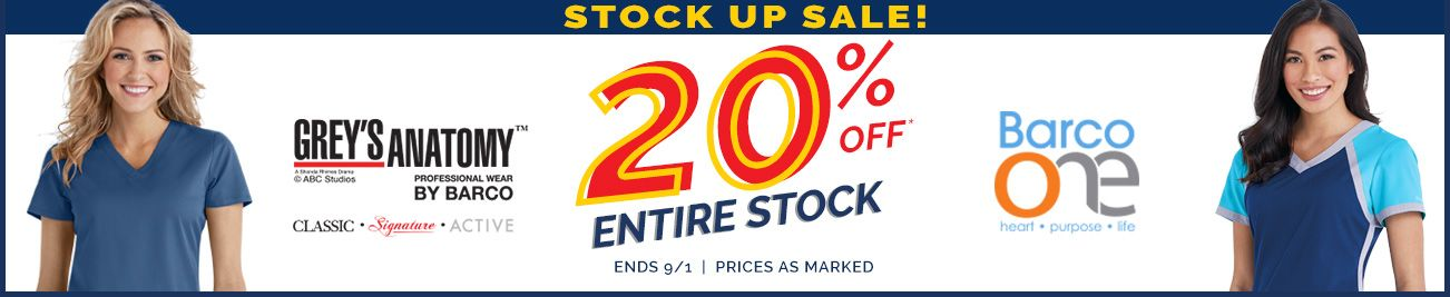 Stock up Sale!
