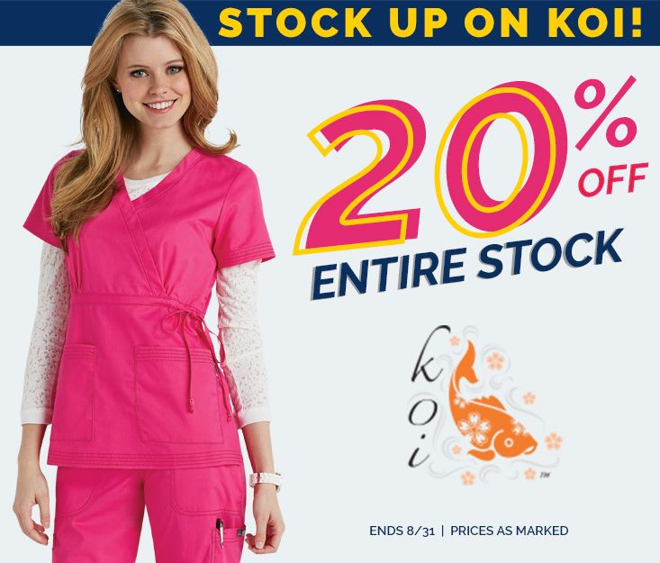 KOI Stock up sale