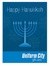 Uniform City Happy Hanukkah Email Gift Cards