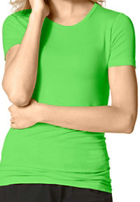 WonderWink Silky Short Sleeve Tees
