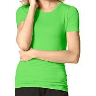 WonderWink Silky Knit Short Sleeve Tee