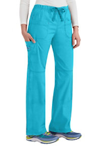 WonderFlex Faith Multi-Pocket Cargo Scrub Pants