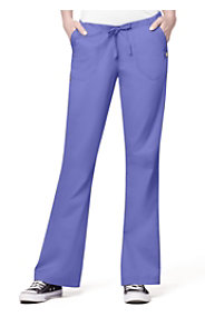 WonderWink Utility Girl Flare Leg Drawstring Pants