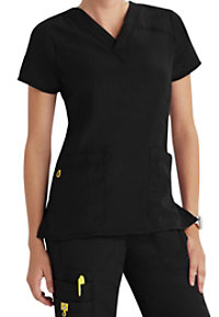 WonderWink Four-Stretch V-neck Scrub Tops