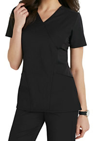 WonderWink Four-Stretch FFX Sport Mock Wrap Scrub Tops