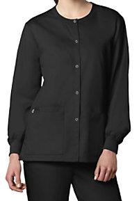 WonderWork Unisex Snap Front Scrub Jackets