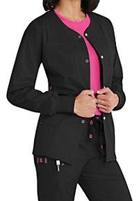 WonderFlex Constance Snap Front Scrub Jackets