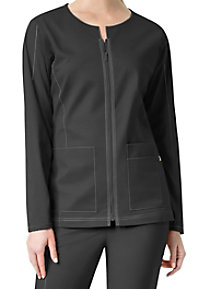 WonderWink 7 Flex Notch Neck Scrub Jackets